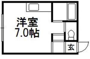 【CHINTAI】スクエア平岸_2階/北海道札幌市豊平区平岸二条3丁目の賃貸マンション_2_8万円、ワンルーム、16_80m²_